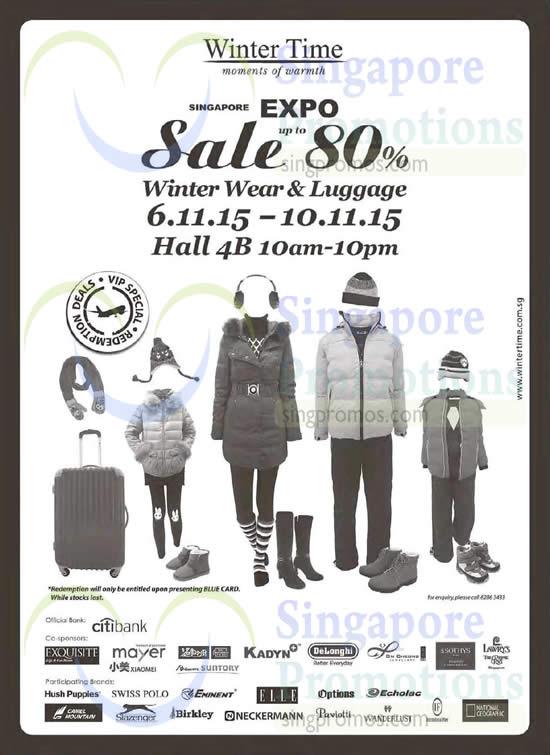 Winter Time Expo 4 Nov 2015