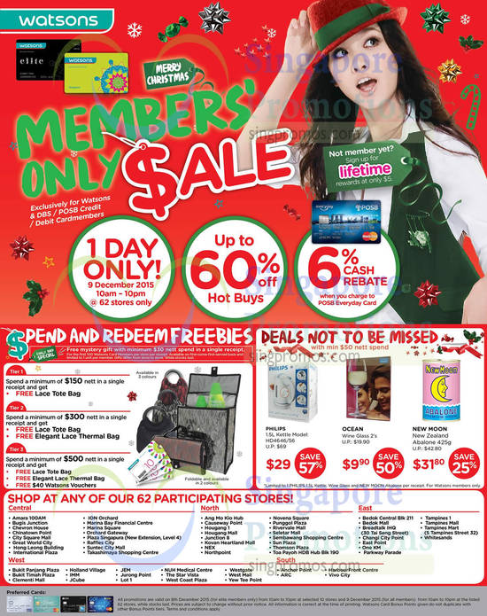 Watsons Sale Highlights
