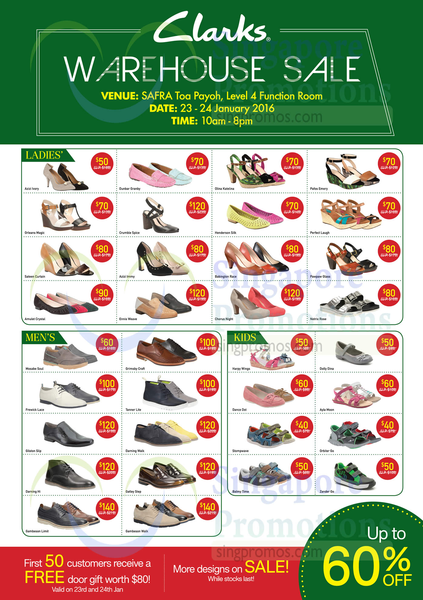 c656b31334e1 Clarks Sale Price List » Clarks Warehouse Sale   SAFRA Toa Payoh 23 ...