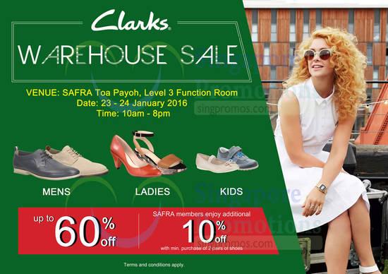 Clarks Sale Venue, Date, Details