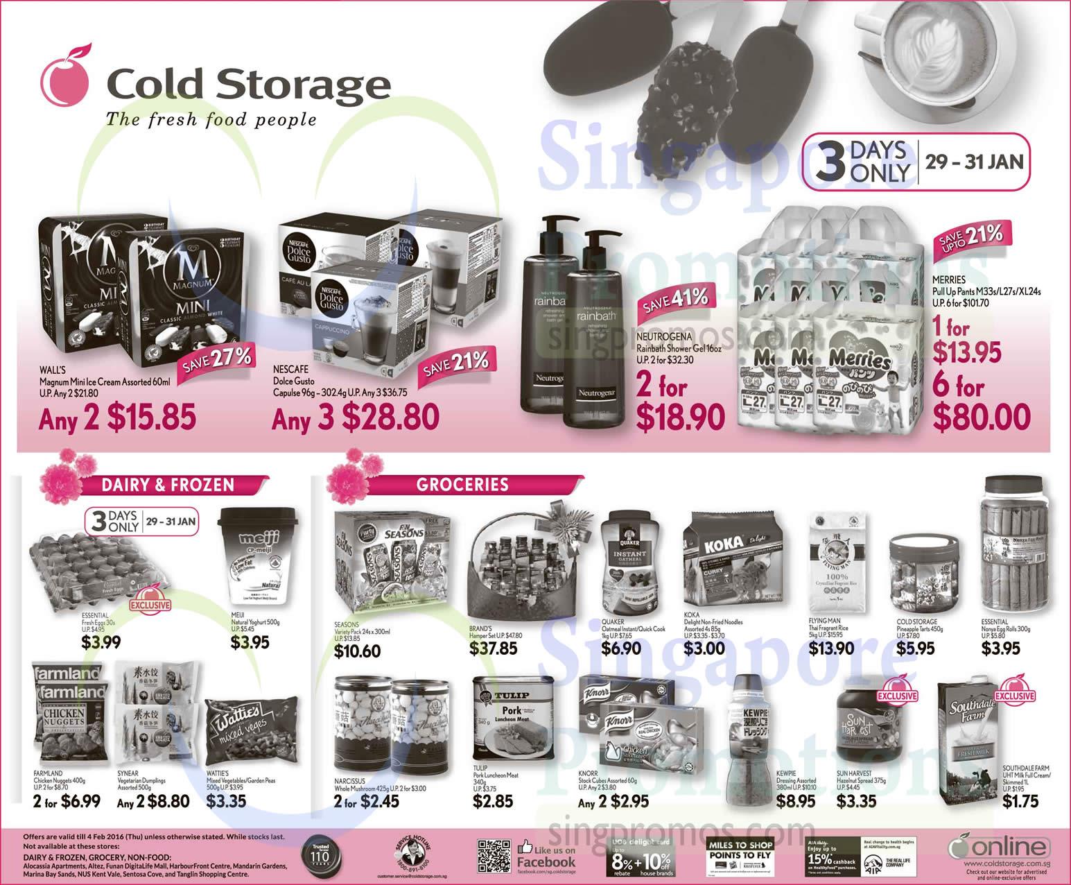 Cold Storage 3Day 29 Jan 2016
