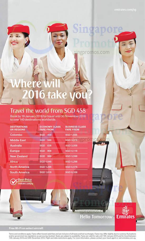 Emirates 5 Jan 2016