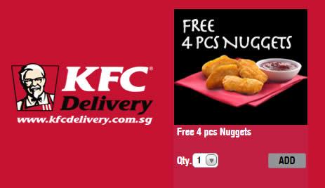 Free Kfc Voucher Code