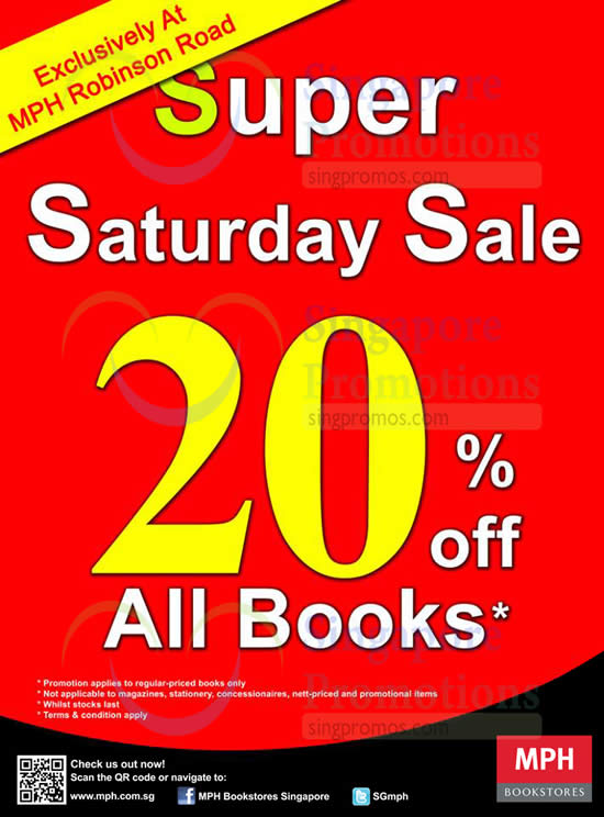 MPH Bookstores 11 Jan 2016