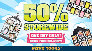Featured image for Mini Toons 50% Off Storewide w/ Free Shipping 1-Day Promo 27 Jan 2016