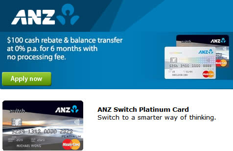 ANZ Switch Card 23 Feb 2016