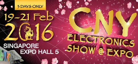 CNY Electronics Show Feat 12 Feb 2016