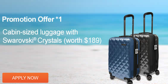 91805d62726 Citibank Credit Cards Apply & Get FREE Cabin-Sized Luggage with ...