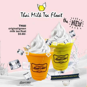 Featured image for HoneyCreme 1-for-1 Thai Milk Tea Float @ 313 Somerset 13 – 14 Feb 2016