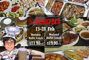 Featured image for I'm KIM Korean BBQ fr $11.90++ Lunch Buffet Promo 15 – 28 Feb 2016