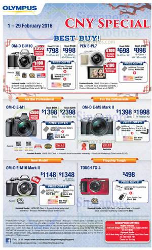 olympus camera promotion