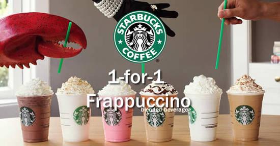 Starbucks 1 for 1 Feat 2 17 Feb 2016
