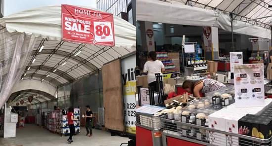 23 Mar Home-Fix Warehouse Sale Feat