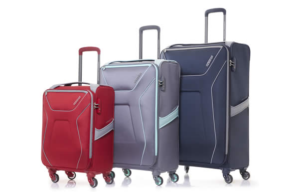 American Tourister New Air Shield Spinner Bags Collection From 24 ... ef3ef25c9dab9