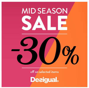 Featured image for Desigual Mid Season Sale From 1 Apr – 8 May 2016