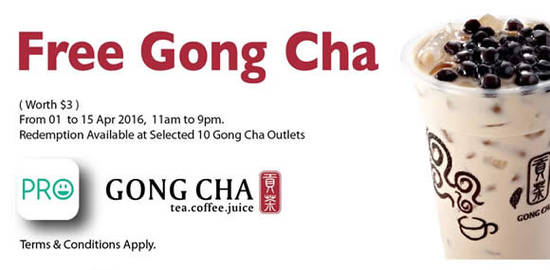Gong Cha Feat 31 Mar 2016