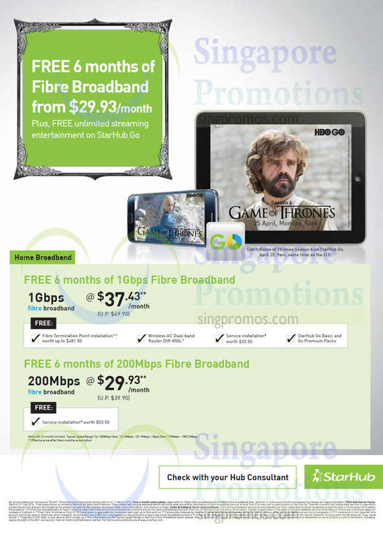 Featured image for Starhub Big Online Sale Broadband, Mobile, Cable TV & Other Offers 10 - 18 Mar 2016
