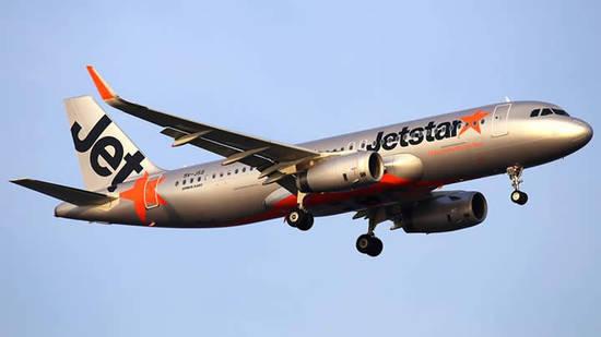 Jetstar Plane Flight