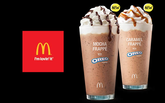 Mcdonald S New Oreo Frappe Beverages From 11 Mar 2016