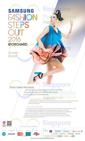 Featured image for Orchard Road Spend & Redeem $30 Shopping Voucher 25 Mar – 6 May 2016