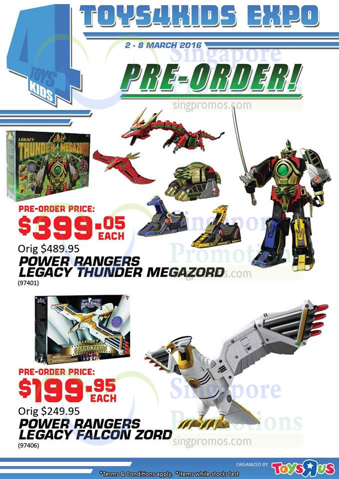 """Citibank Online Sign In >> Pre-Order Power Rangers Legacy » Toys """"R"""" Us Atrium Event @ Tampines Mall 2 – 8 Mar 2016 ..."""