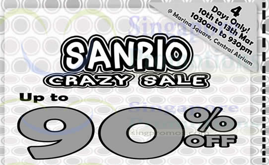 Sanrio Feat 10 Mar 2016
