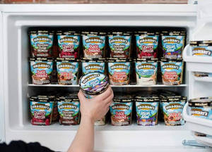 Sheng Siong: Ben & Jerry's ice cream tubs are going at 2-for-$19.90 till 23 June 2019