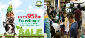 Featured image for Pets' Station Warehouse Sale from 3 – 5 Jun 2016
