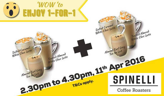 Spinelli Coffee Company Feat 11 Apr 2016