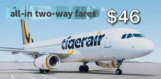 Tigerair 4 Apr 2016