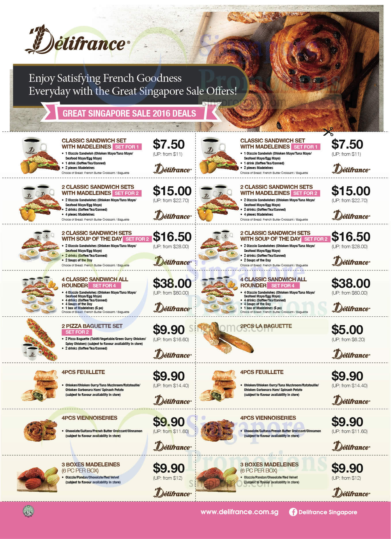 Delifrance Coupons Front (May 2016)