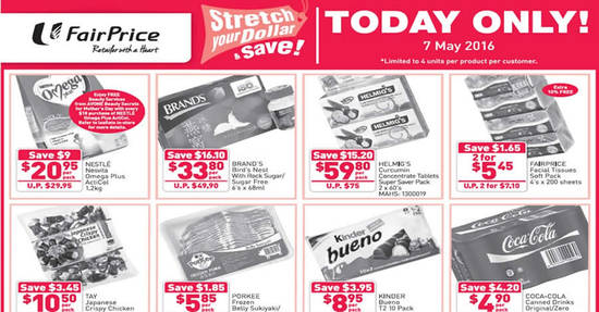 FairPrice Feat 7 May 2016