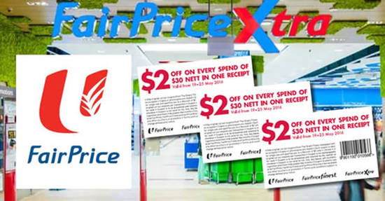 Fairprice 2 Off 19 May 2016