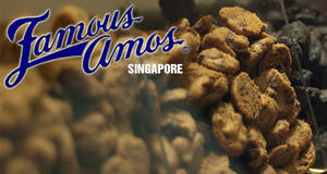 Famous Amos: FREE 50% more cookies with every purchase of 400g bag! Valid till 22 Jul 2018