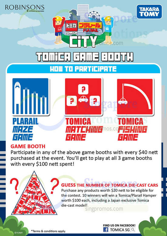 Game Booth, How to Participate