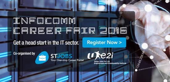 Infocomm Career Fair Feat 18 May 2016