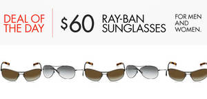 8c3e2606eb2 Ray-Ban Sunglasses at US 60 24hr Deal from 24 – 25 May 2016