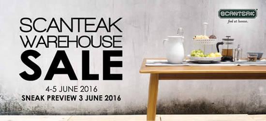 Scanteak Warehouse Sale 31 May 2016