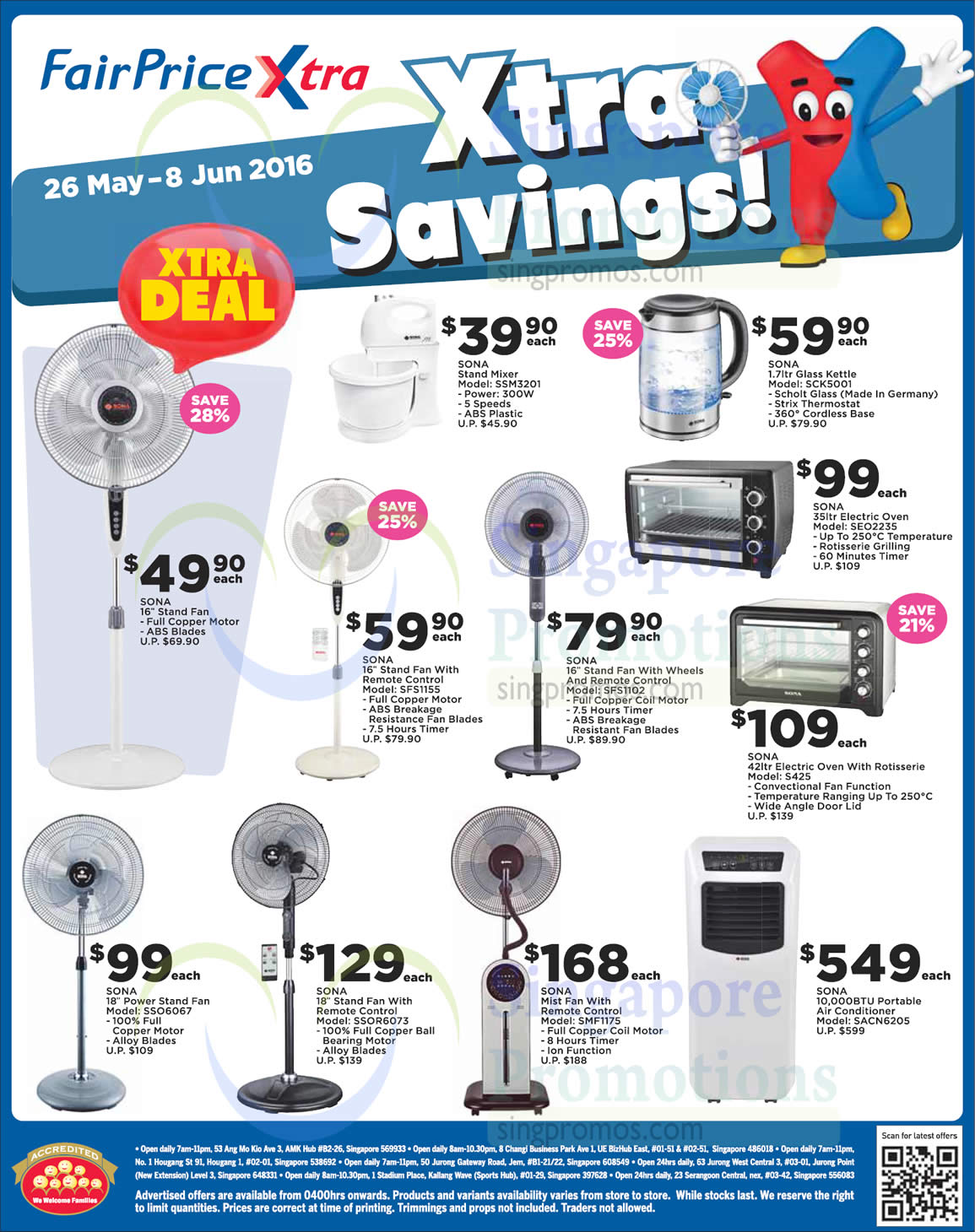 Sona Home Appliances 26 May 2016