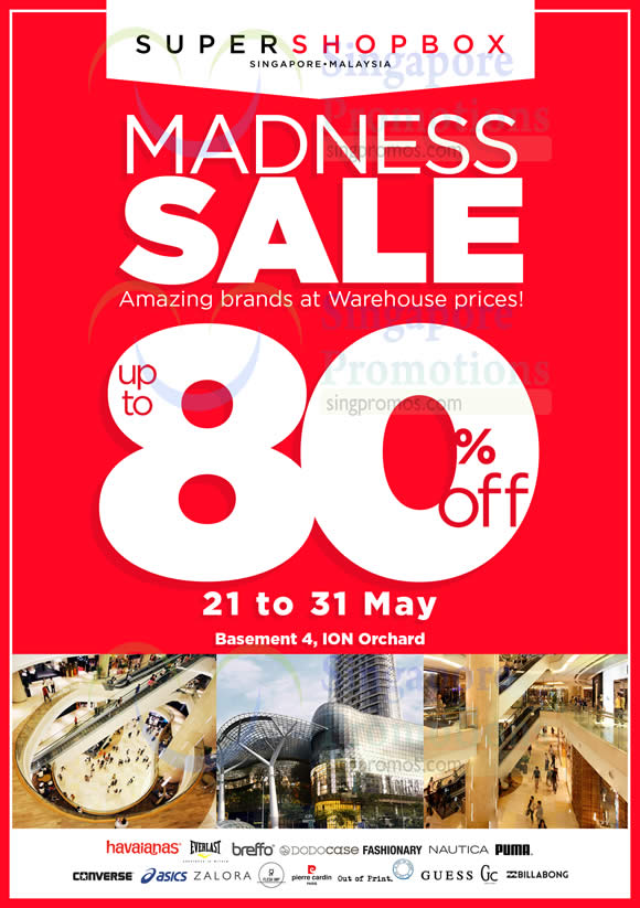 c0f291a2ab15 Supershopbox Warehouse Sale at ION Orchard from 21 – 31 May 2016