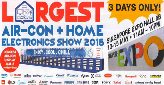 The Largest Aircon 8 May 2016