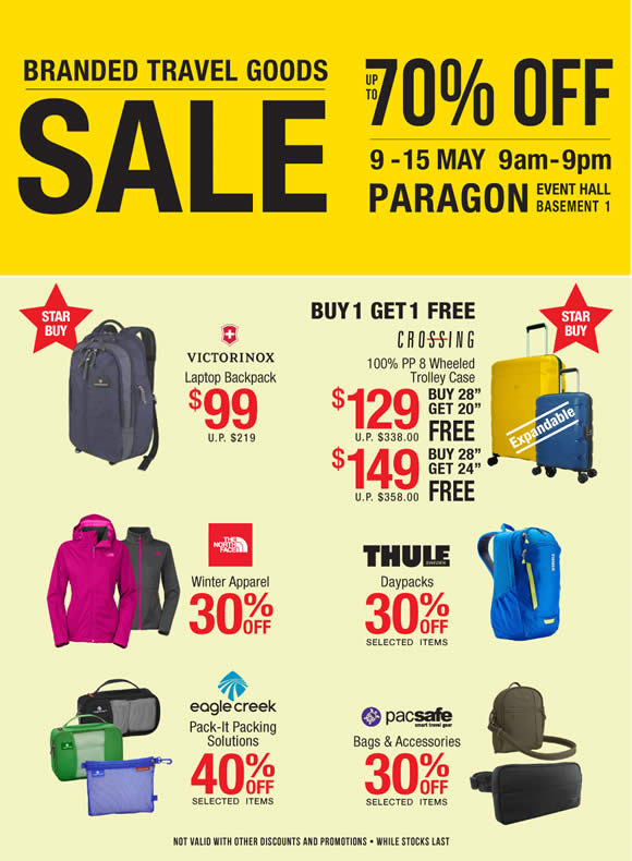 Planet Traveller Travel Branded Goods Sale At Paragon From