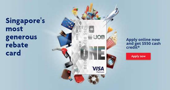 UOB One Card 6 May 2016