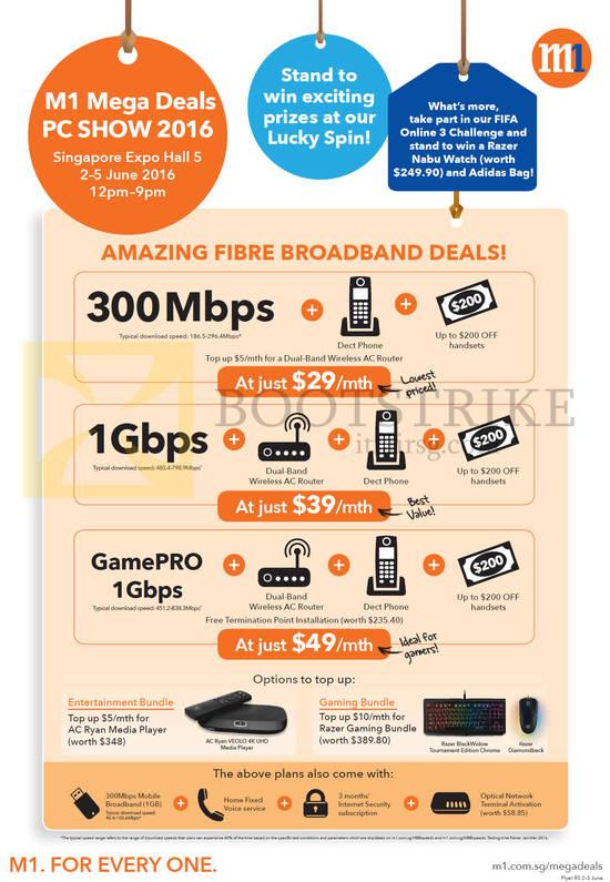 Fibre Broadband 29.00 300Mbps, 39.00 1Gbps, 49.00 GamePRO 1Gbps, Entertainment Bundle, Gaming Bundle
