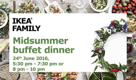 IKEA Swedish Midsummer Feat 4 Jun 2016