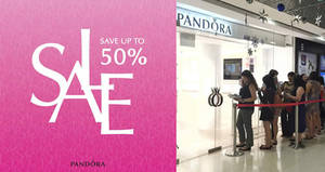 Pandora Summer Sale offers up to 50% off selected items till 5 July 2020