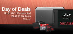 Featured image for SanDisk Up To 27% Off SSDs, MicroSD, USB Flash & More 24hr Deal from 1 – 2 Jun 2016