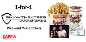Featured image for Shaw Theatres 1-for-1 weekend movie tickets for SAFRA members from 7 Jan – 25 Jun 2017