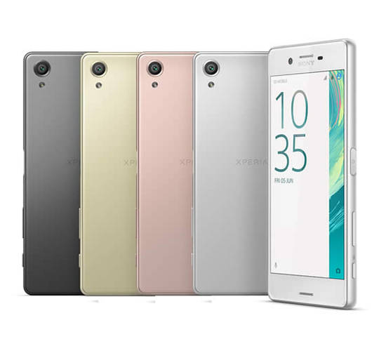 Xperia X Colour Range