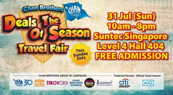 Chan Brothers Deals Feat 27 Jul 2016